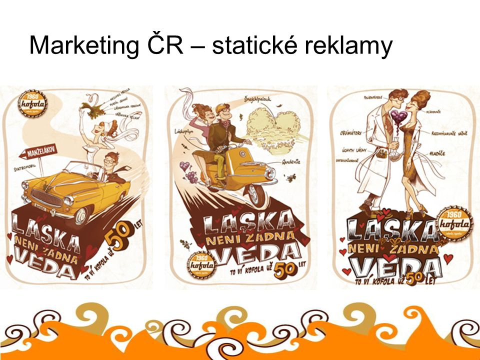 Marketing ČR – statické reklamy