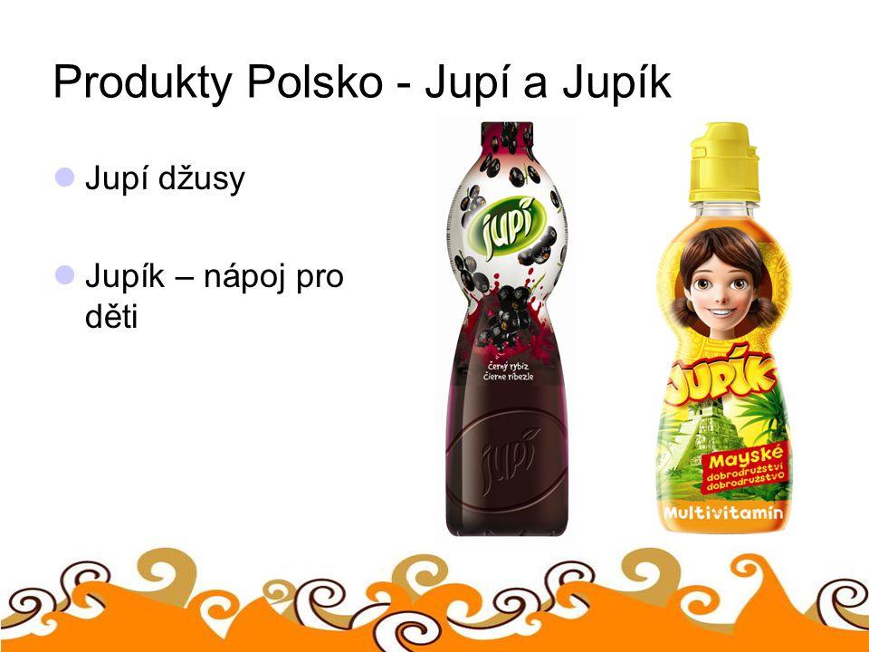 Produkty Polsko - Jupí a Jupík