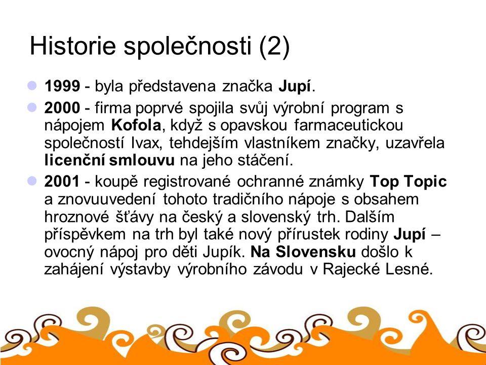 Historie společnosti (2)