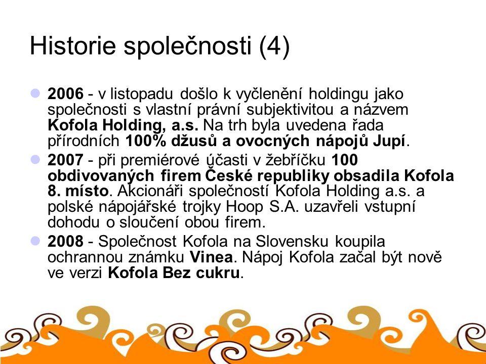 Historie společnosti (4)