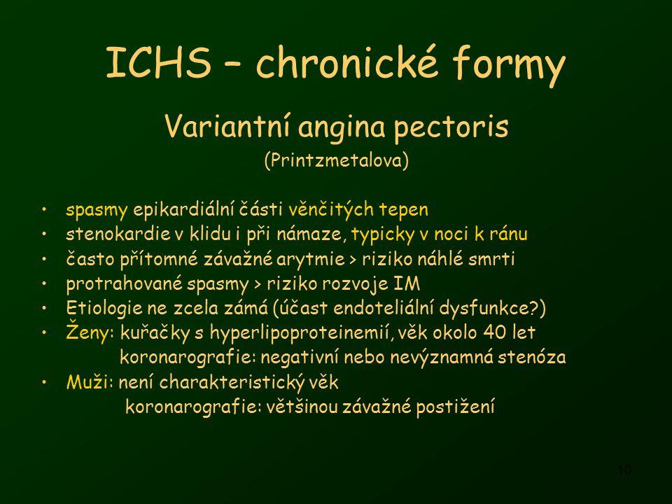 Variantní angina pectoris