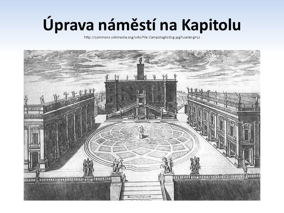 Úprava náměstí na Kapitolu