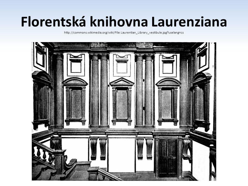 Florentská knihovna Laurenziana