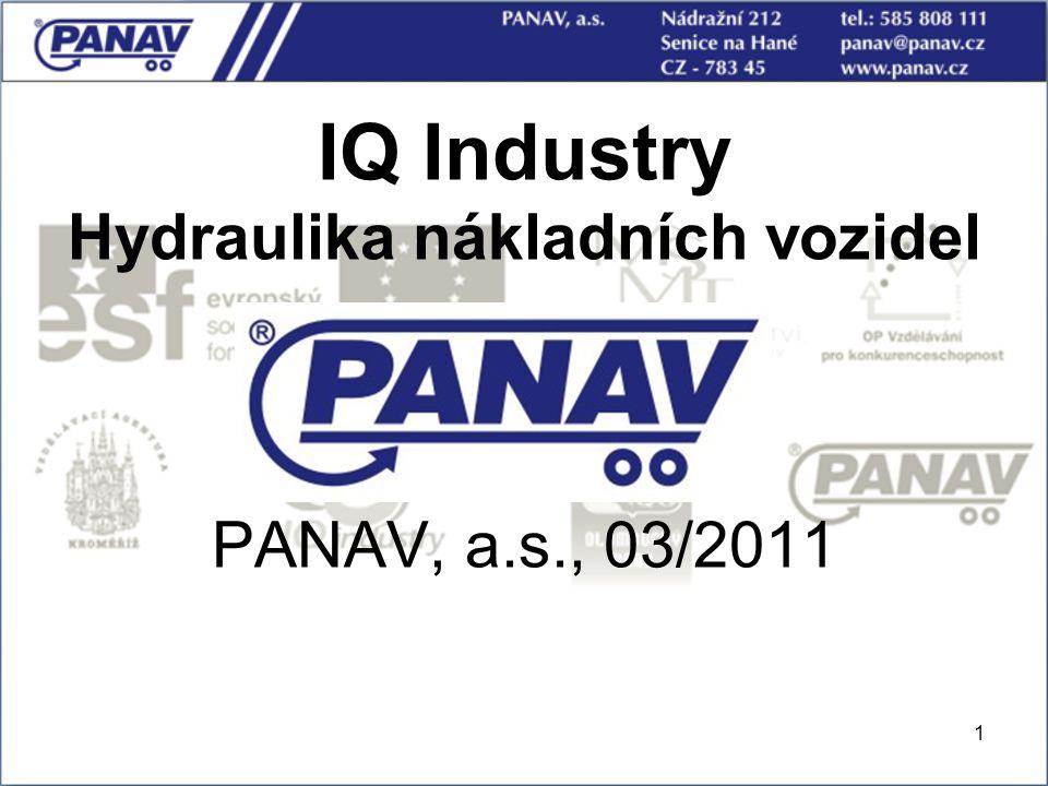 IQ Industry Hydraulika nákladních vozidel PANAV, a.s., 03/2011