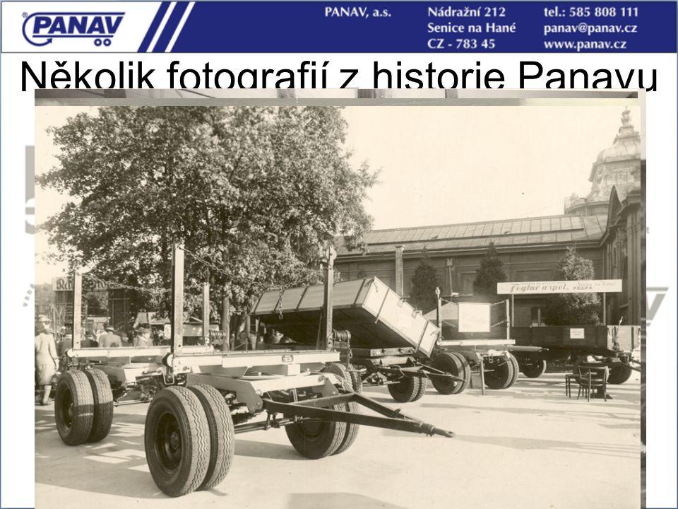 Několik fotografií z historie Panavu