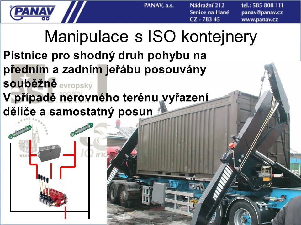Manipulace s ISO kontejnery
