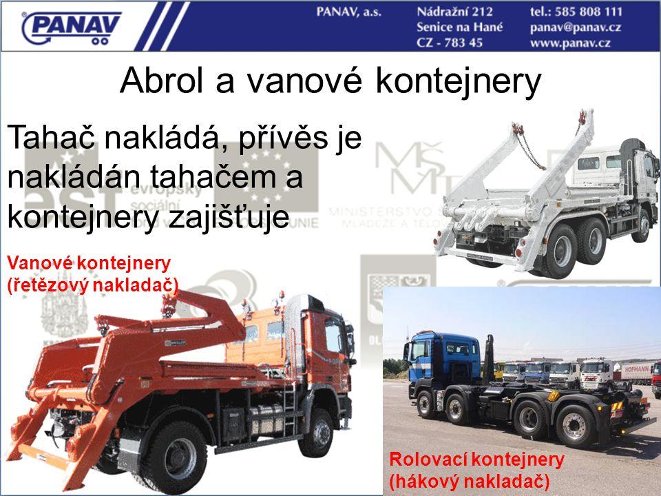 Abrol a vanové kontejnery