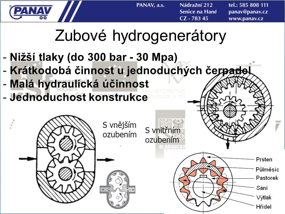 Zubové hydrogenerátory