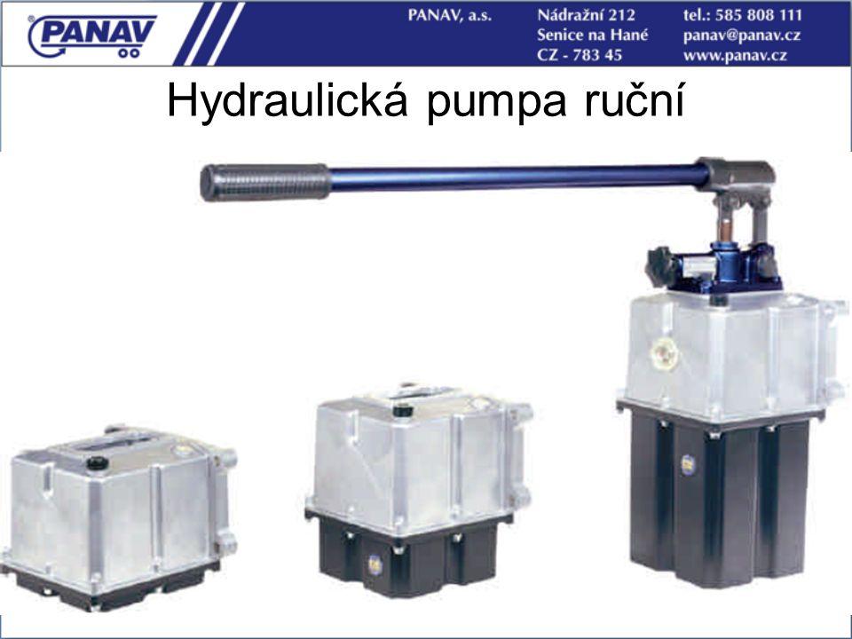 Hydraulická pumpa ruční