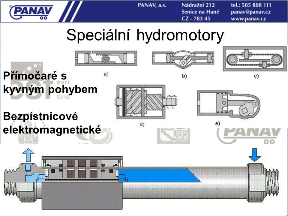 Speciální hydromotory
