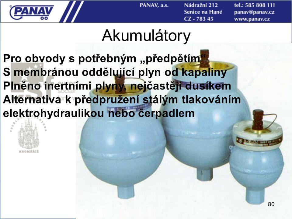 """Akumulátory Pro obvody s potřebným """"předpětím"""