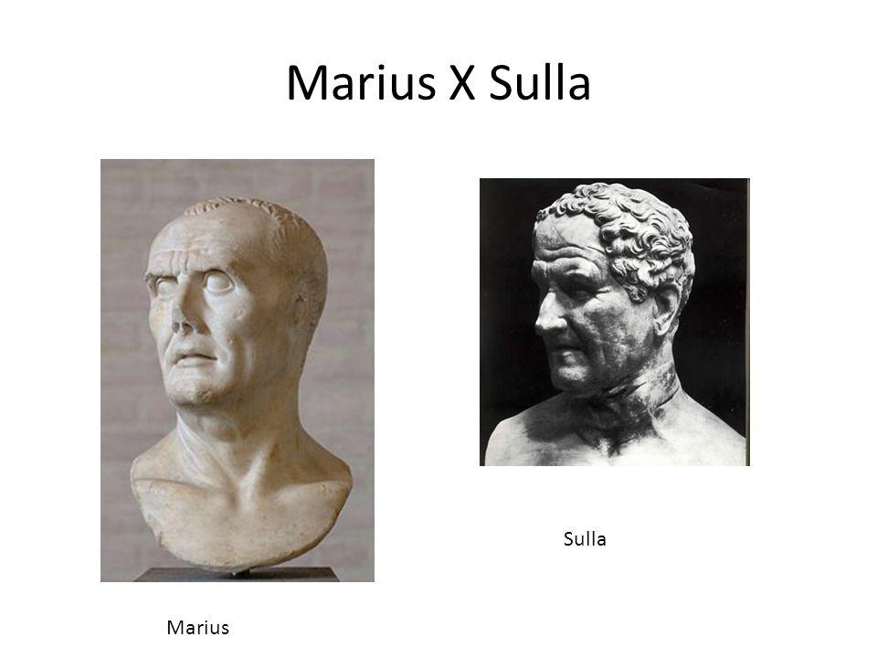 Marius X Sulla Sulla Marius