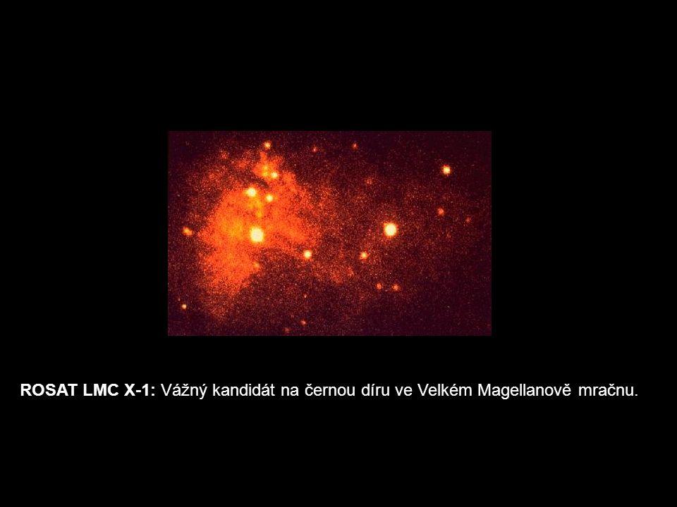 ROSAT LMC X-1: Vážný kandidát na černou díru ve Velkém Magellanově mračnu.