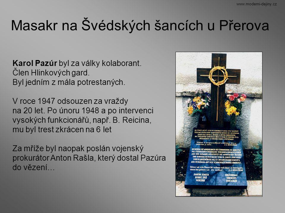 Masakr na Švédských šancích u Přerova