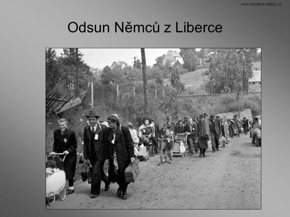 www.moderni-dejiny.cz Odsun Němců z Liberce
