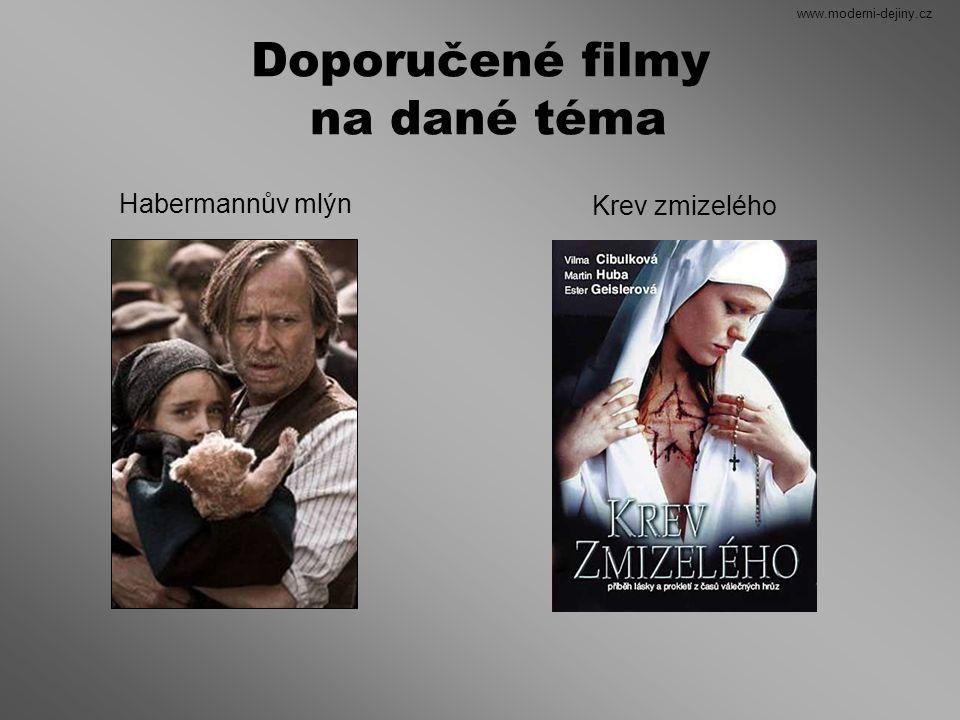 Doporučené filmy na dané téma