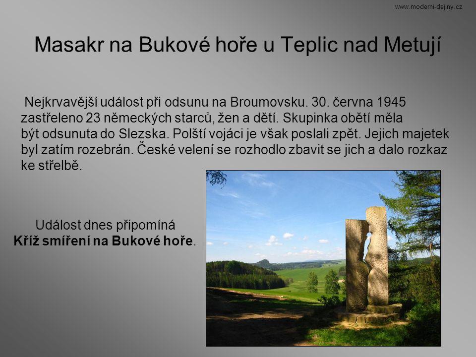 Masakr na Bukové hoře u Teplic nad Metují