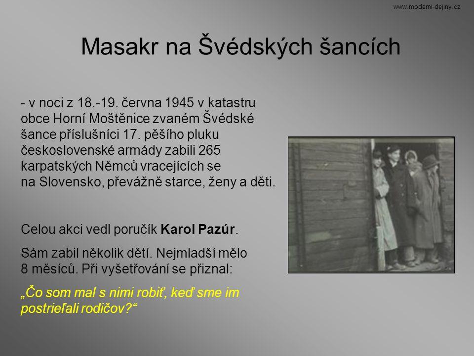 Masakr na Švédských šancích