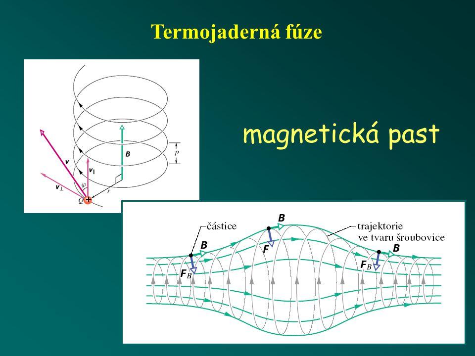 Termojaderná fúze magnetická past