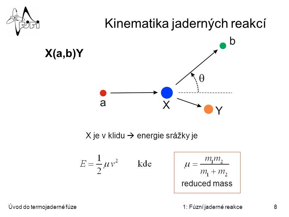 Kinematika jaderných reakcí