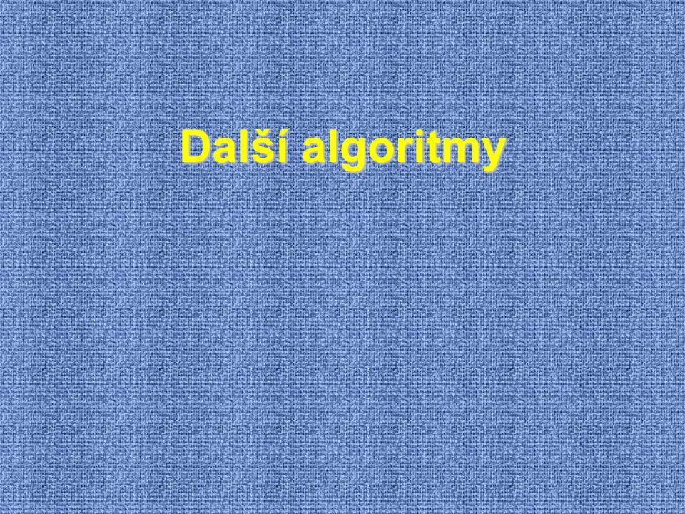 Další algoritmy