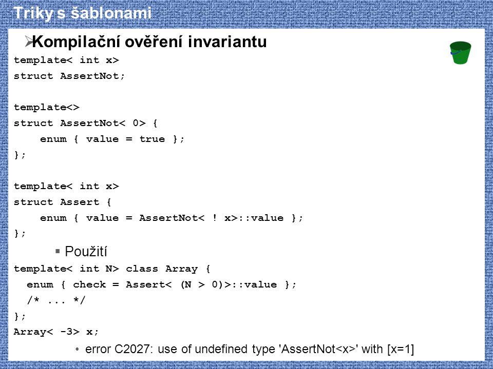 Kompilační ověření invariantu