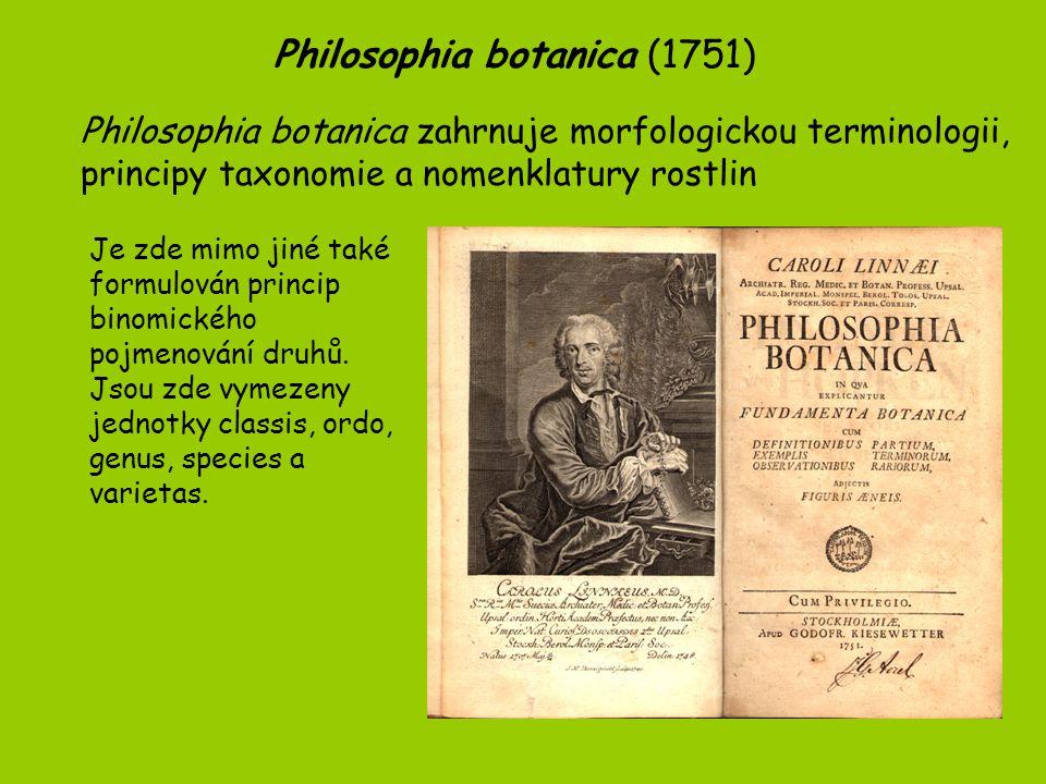 Philosophia botanica (1751)