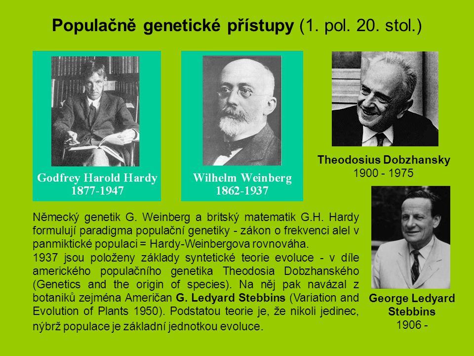 Theodosius Dobzhansky George Ledyard Stebbins