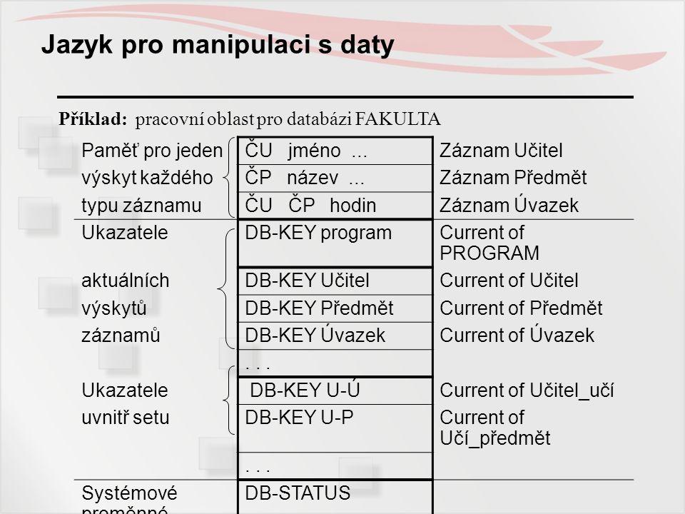 Jazyk pro manipulaci s daty