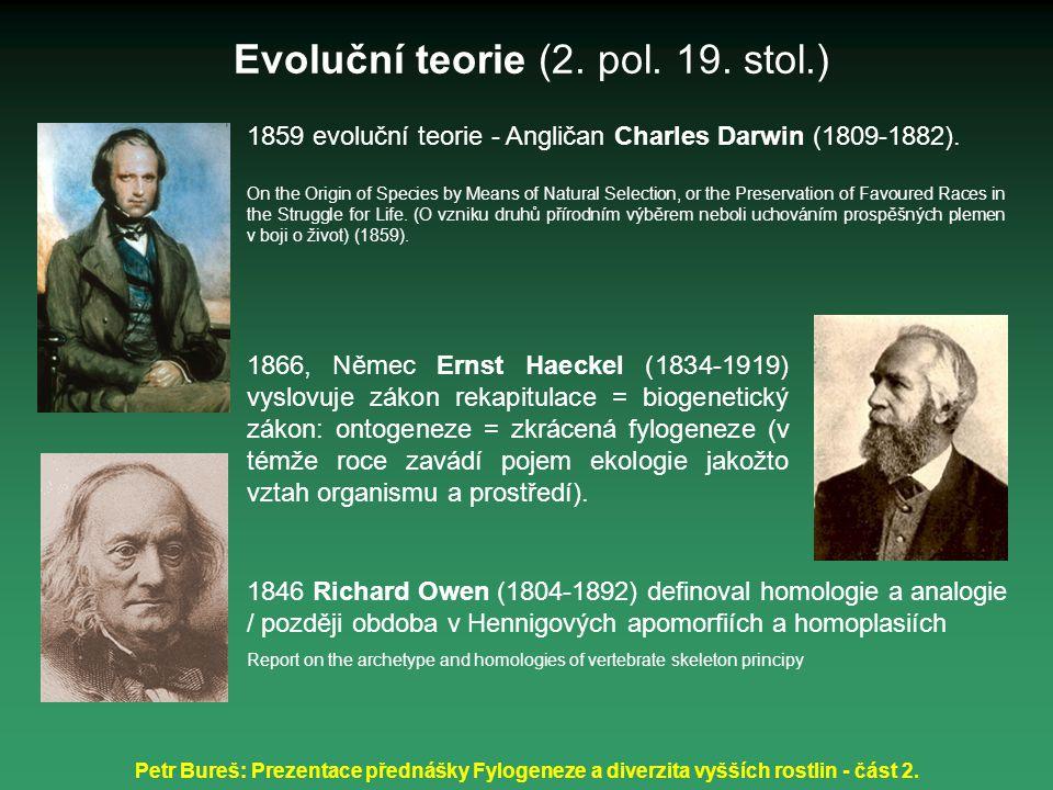 Evoluční teorie (2. pol. 19. stol.)