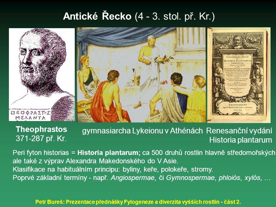 Antické Řecko (4 - 3. stol. př. Kr.)