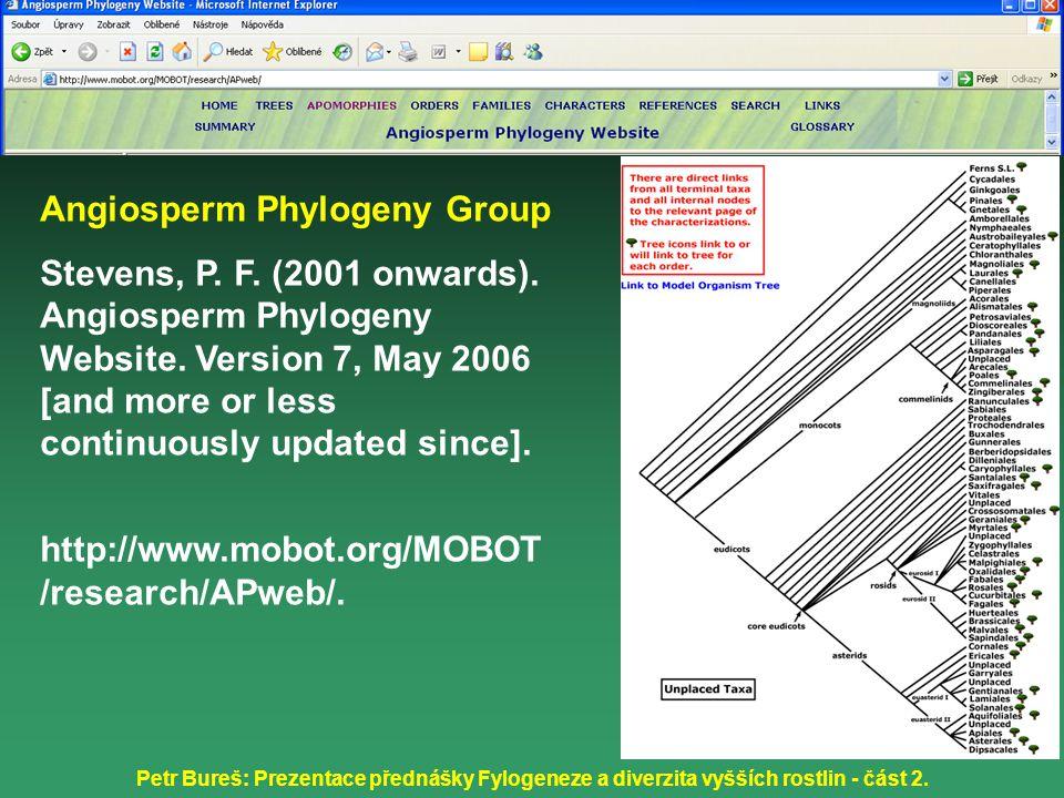 Angiosperm Phylogeny Group