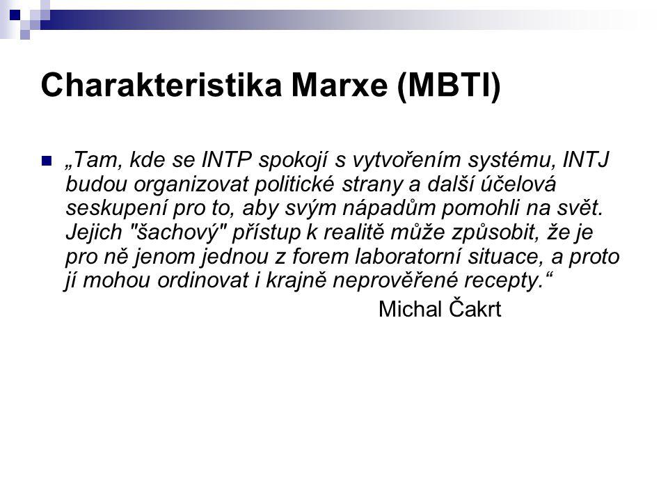 Charakteristika Marxe (MBTI)
