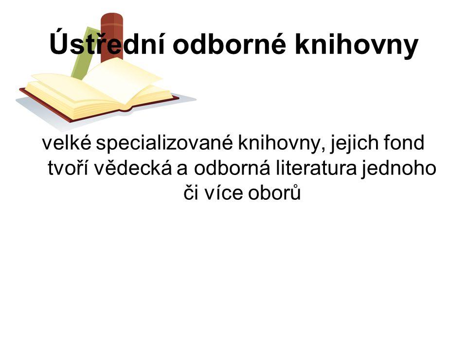 Ústřední odborné knihovny