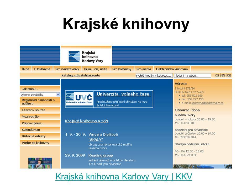 Krajská knihovna Karlovy Vary | KKV