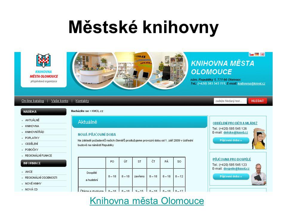 Knihovna města Olomouce