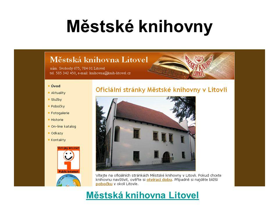 Městská knihovna Litovel