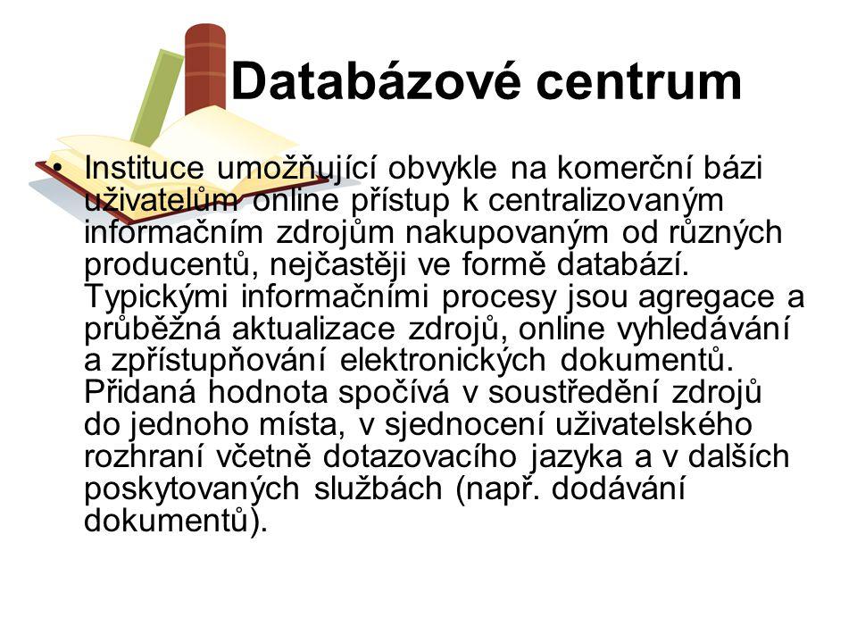 Databázové centrum