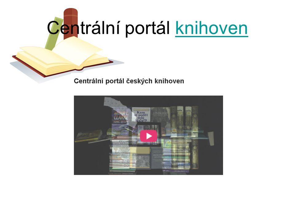 Centrální portál knihoven