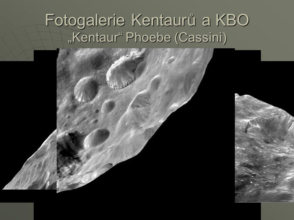 "Fotogalerie Kentaurů a KBO ""Kentaur Phoebe (Cassini)"