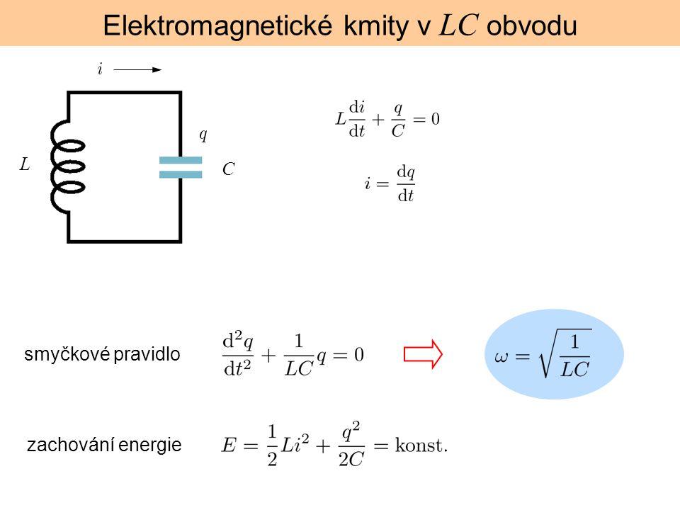 Elektromagnetické kmity v LC obvodu