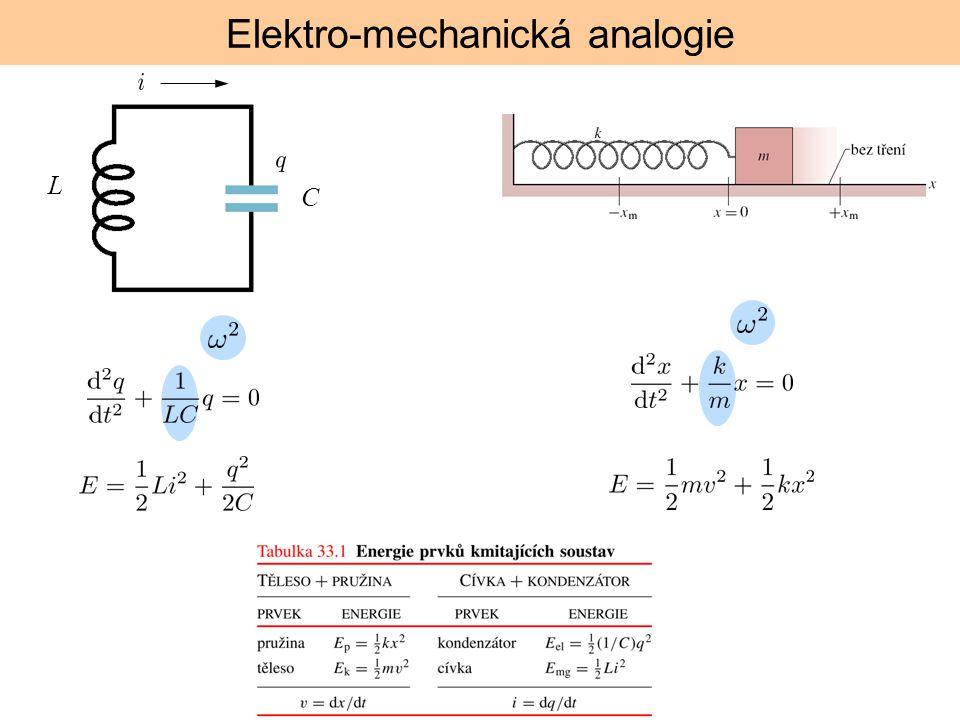 Elektro-mechanická analogie