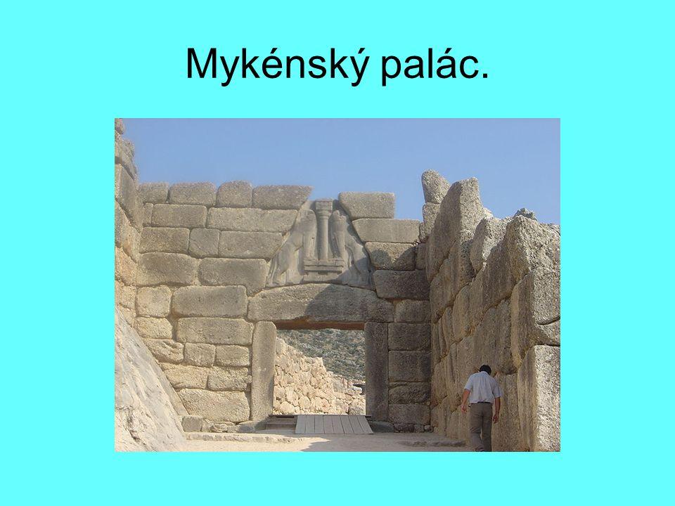 Mykénský palác.