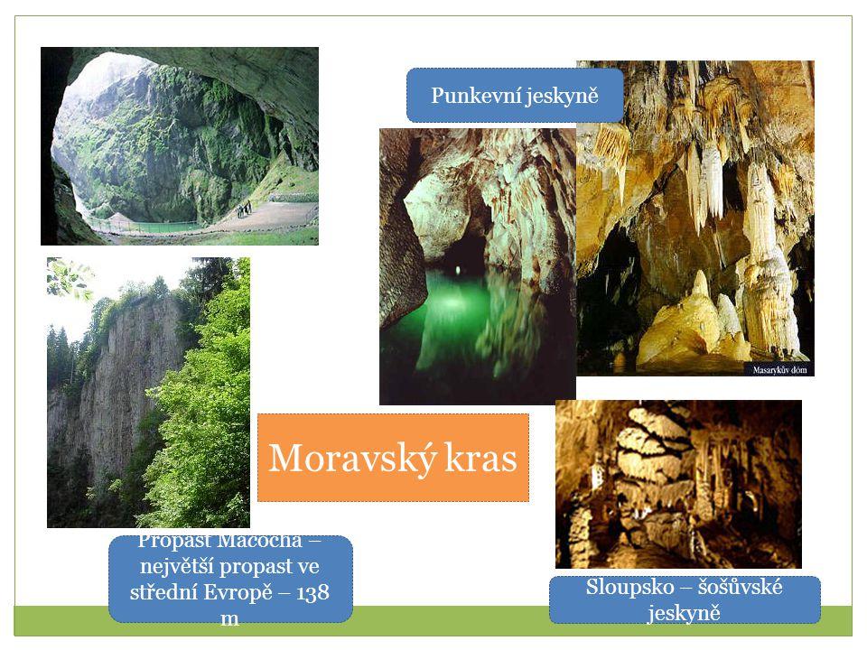 Moravský kras Punkevní jeskyně