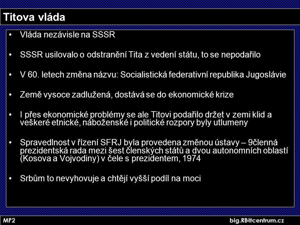 Titova vláda Vláda nezávisle na SSSR