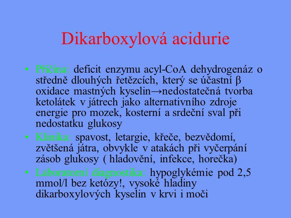 Dikarboxylová acidurie