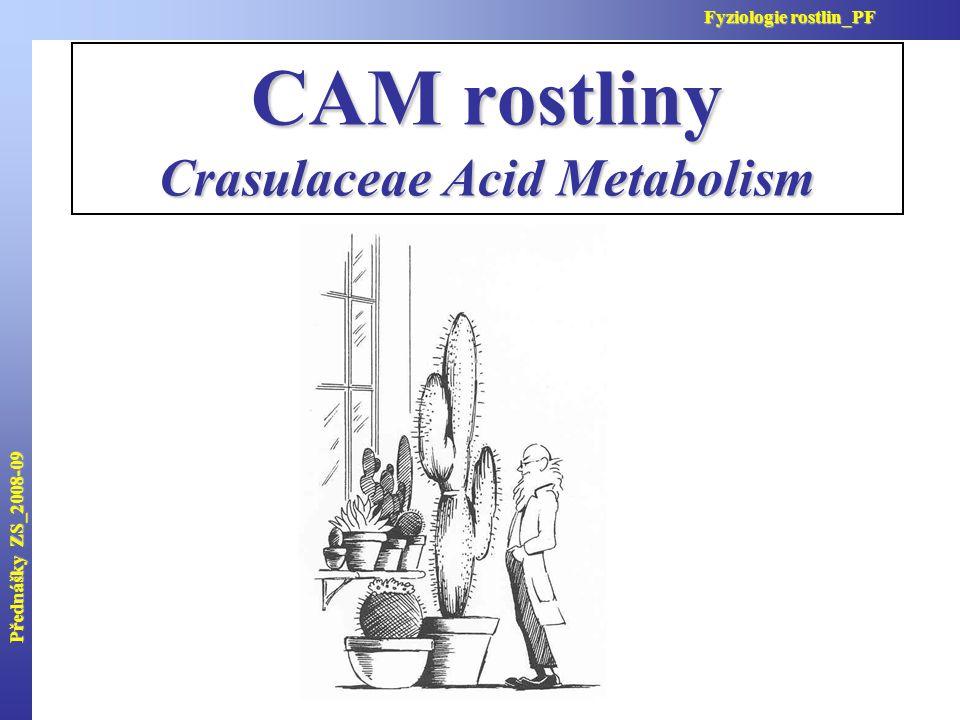 Crasulaceae Acid Metabolism