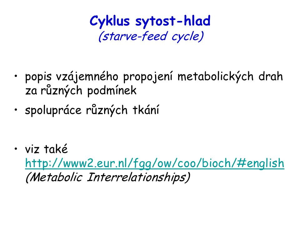 Cyklus sytost-hlad (starve-feed cycle)