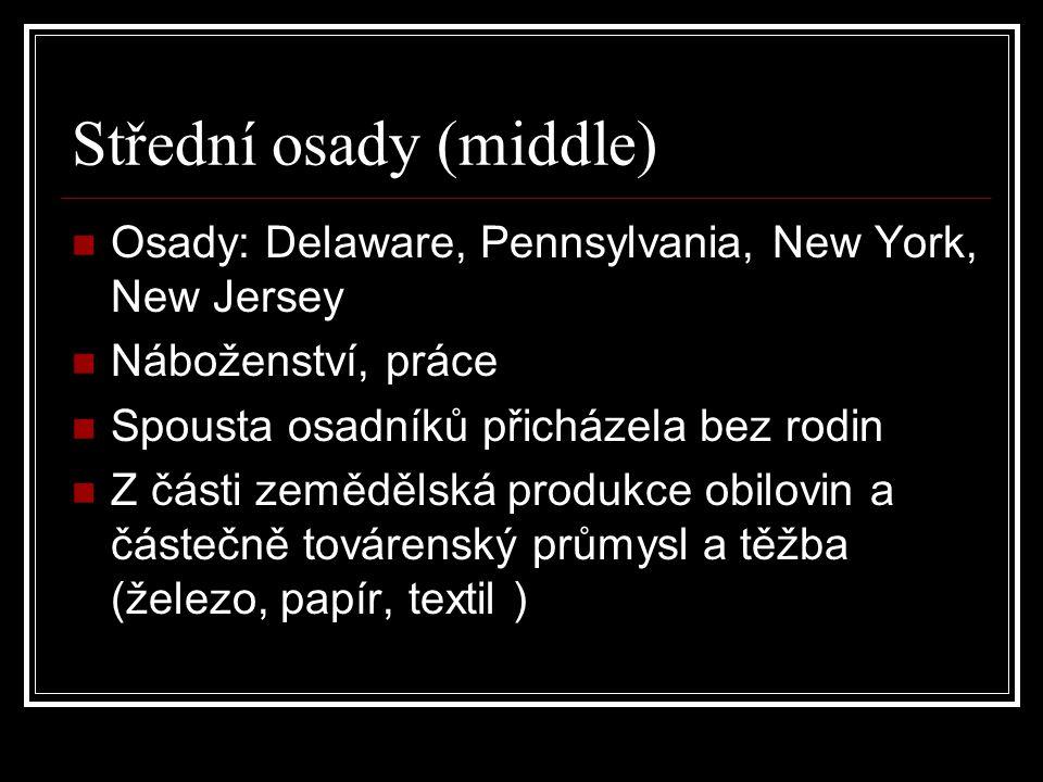 Střední osady (middle)