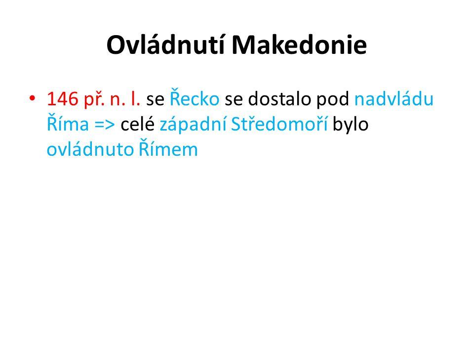 Ovládnutí Makedonie 146 př. n. l.